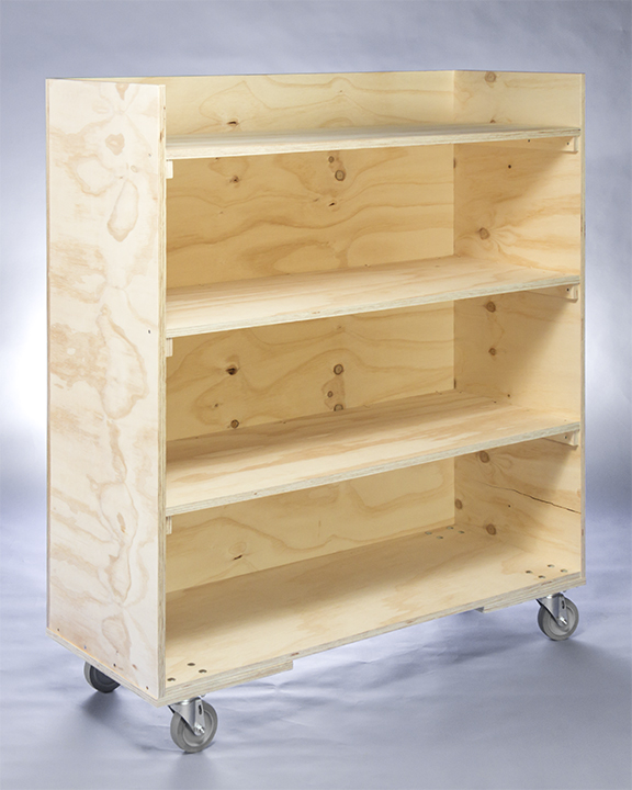 Moving Equipment Rental Shelf Carts